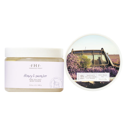 FarmHouse Fresh Honey Lavender Fine Body Scrub