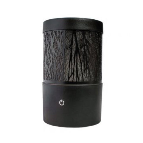 Greenair Serene Living Willow Forest Essential Oil Diffuser-Black