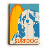 Surf Dog Wood Wall Decor by Lisa Weedn