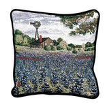 Texas Bluebonnets Pillow
