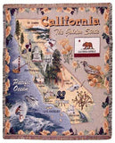 California Tapestry Throw