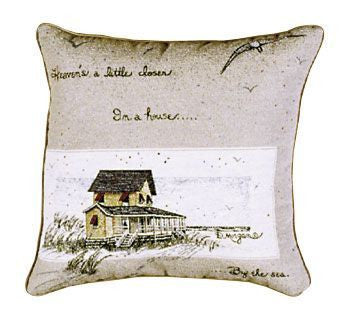 House By The Sea Pillow (17X17)