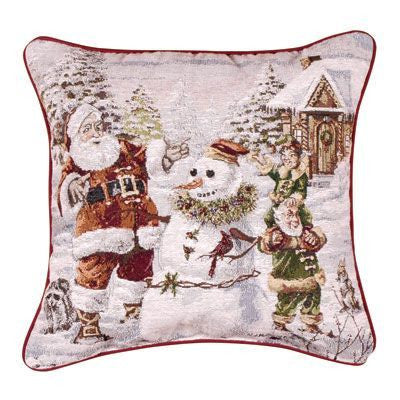 Santas Helpers Pillow