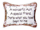 A Wonderful Aunt Pillow