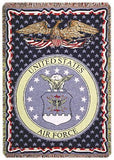 Air Force Full-Size 3 Layer Throw