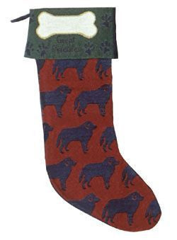 Great Pyrenees Stocking