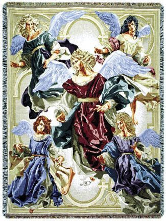Angels Of Hope Full-Size Tapestry Throw