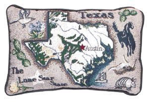 Texas State Pillow