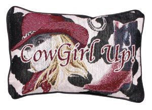 Cowgirl Up! Pillow