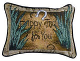 Happy Trails To You Pillow