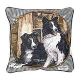 Border Collie Pillow