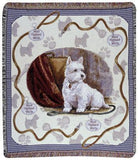 West Highland Terrier Mid-Size Tapestry Throw