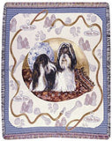 Shih-Tzu Mid-Size Tapestry Throw