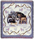 Chihuahua Mid-Size Tapestry Throw