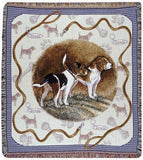 Beagle Mid-Size Tapestry Throw