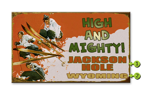 High and Mighty Metal 23x39
