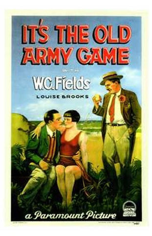 It's the Old Army Game Movie Poster Print