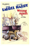 Wrong Again Movie Poster Print