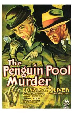 The Penguin Pool Murder Movie Poster Print