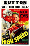 High Speed Movie Poster Print