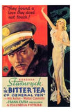 The Bitter Tea of General Yen Movie Poster Print