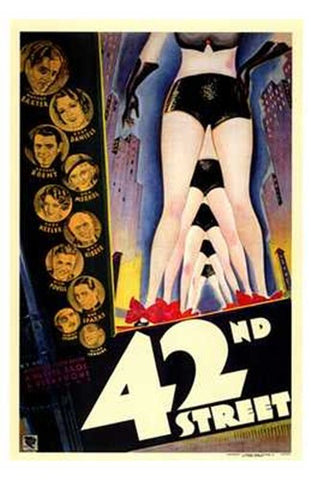 42Nd Street Movie Poster Print