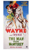 Man from Monterey Movie Poster Print