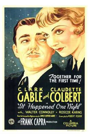 it Happened One Night Movie Poster Print