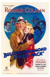 Bulldog Drummond Strikes Back Movie Poster Print