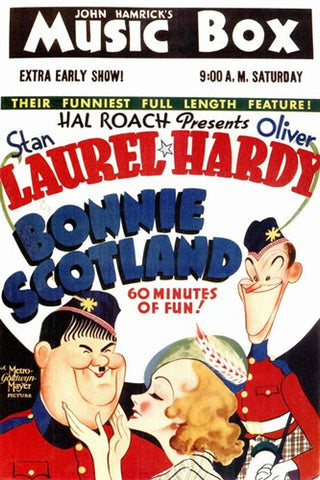 Bonnie Scotland Movie Poster Print