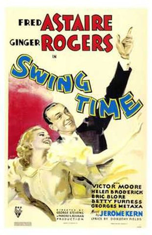 Swing Time Movie Poster Print