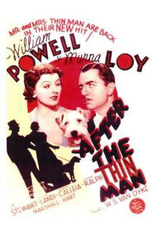 After the Thin Man Movie Poster Print
