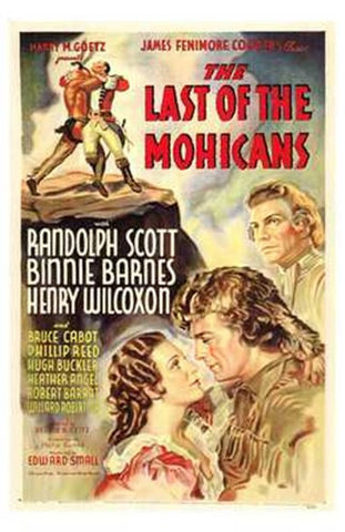 The Last of the Mohicans Movie Poster Print