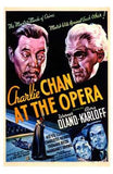 Charlie Chan At the Opera Movie Poster Print