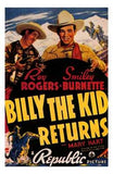 Billy the Kid Returns Movie Poster Print