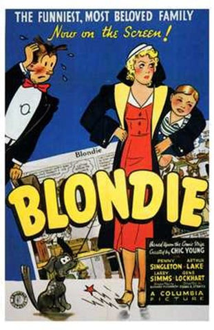 Blondie Movie Poster Print