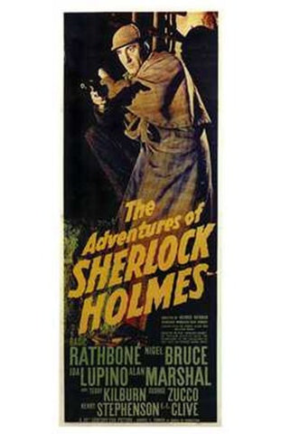 The Adventures of Sherlock Holmes Movie Poster Print