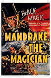 Mandrake the Magician Movie Poster Print