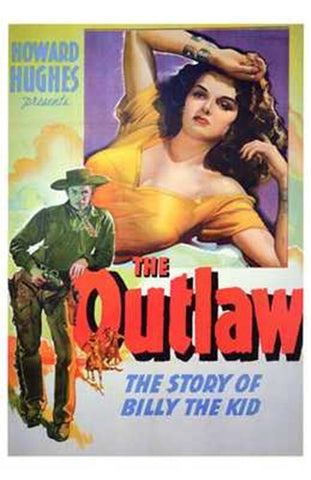 The Outlaw Movie Poster Print