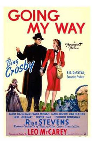 Going My Way Movie Poster Print