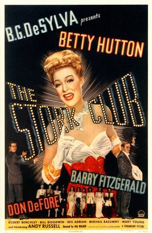 The Stork Club Movie Poster Print
