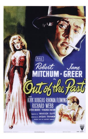 Out of the Past Movie Poster Print