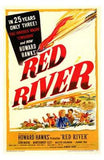 Red River Movie Poster Print