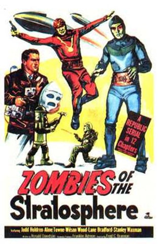 Zombies of the Stratosphere Movie Poster Print