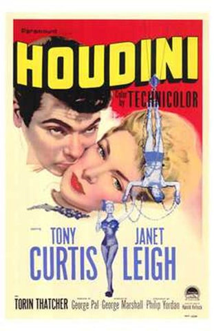 Houdini Movie Poster Print