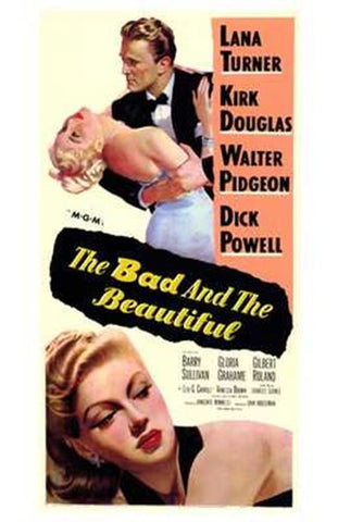 The Bad and the Beautiful Movie Poster Print