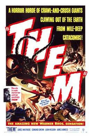 Them! Movie Poster Print