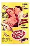 Kiss Me Deadly Movie Poster Print
