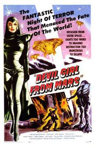 Devil Girl from Mars Movie Poster Print