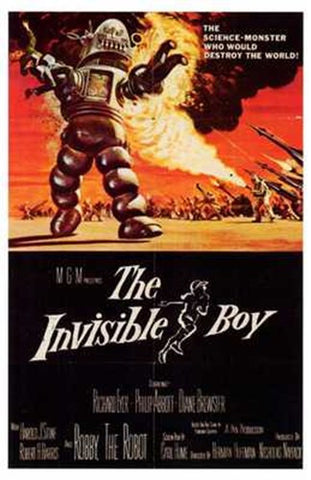 The Invisible Boy Movie Poster Print